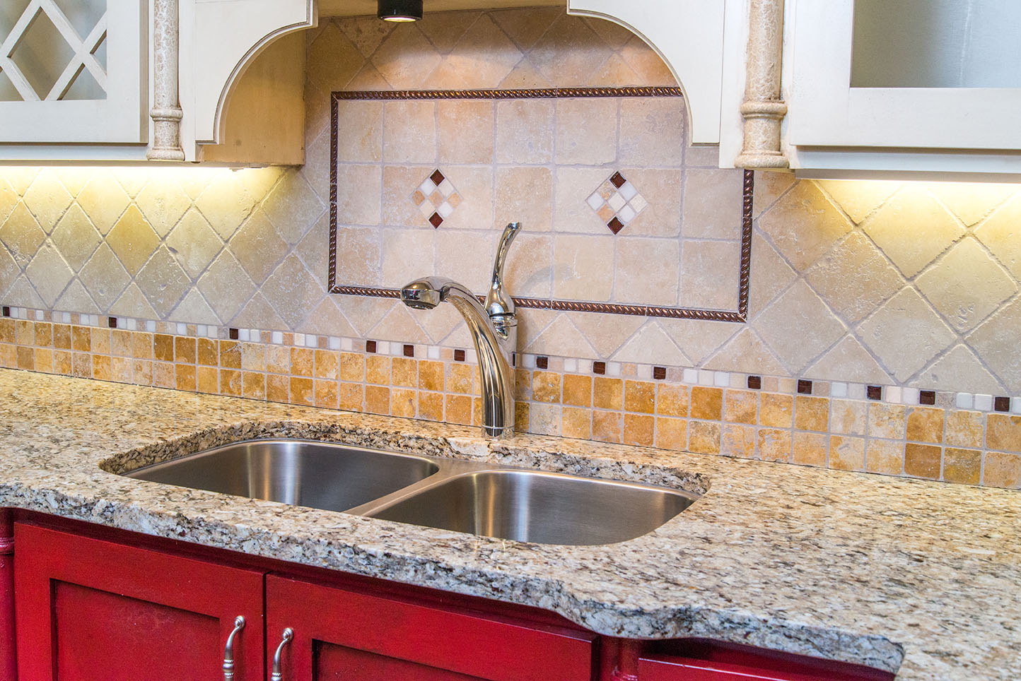 St. Cecelia granite is full of neutral tones that will bring warmth to any space